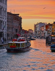 Sunset in Venice (Moonlight Mike) Tags: sunsetinvenice venice colours sunset tramonto venezia