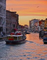 Sunset in Venice (Moonlight Mike) Tags: sunsetinvenice venice colours sunset tramonto venezia