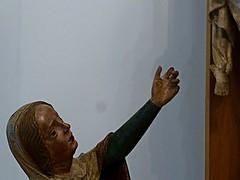un perizonium, des perizonia (2) (canecrabe) Tags: vierge marie crucifixion sculpteur sculpture calvaire bois renaissance polychrome wroclav saintelisabeth brzeg musee perizonium