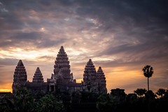 Angkor Sunrise (roberic) Tags: angkorwat buddha gods nature ruins temple trees travel cambodia siemreap