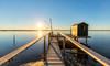 the power of sun (Silvio1987) Tags: canon6d canon1635 manfrotto giottos ravenna marina romea italy sun sunset lagoon seaside blu summer emilia