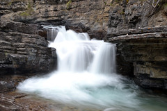 waterfall (deanamcneish) Tags: waterfall canada canadianrockies johnstoncanyon
