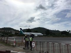 Samui Airport Runway (soma-samui.com) Tags: thailand kohsamui airport runway silkair       airplane