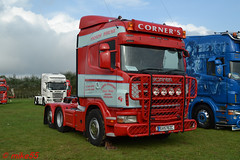 Scania R 'Corner's Transport' reg SV57 EZC (erfmike51) Tags: scaniar artic truck v8 lorry swedefest2016 cornerstransport