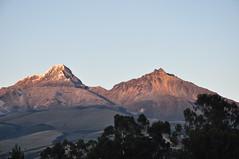 Illinizas (Ryan Hadley) Tags: illinizasur illinizanorte illiniza volcano sunrise alpenglow landscape chuquiragualodge avenueofthevolcanoes ecuador southamerica mountains andesmountains