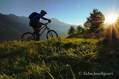 Mountain Biking 'till the Sunset (Fabrizio Malisan Photography @fabulouSport) Tags: view natura montagnes montagne montagna tramonto tramonti sunset nature italian italien tourisme velo cycling biking mountainbiking mountainbike vtt mtb turismo tourism italia italy trentinoaltoadige trentino valdisole outdoors outdoor travel sports sport silouhette cyclist biker bike man