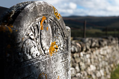 Tombstone (Ginger Snaps Photography) Tags: burial tombstone grave graveyard highland scotland drumtemple churchyard church old gothic sigma canon sigma1835 shadow