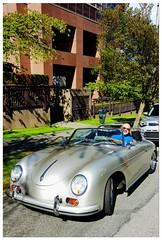 Living the Dream (HereInVancouver) Tags: porsche speedster convertible classiccar sportscar dreaming thekindnessofstrangers urban city vancouver bc canada mobilephonephoto samsunggalaxys6