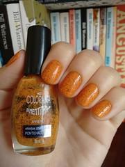 Arrepio - Colorama (Mari Hotz) Tags: laranja esmalte unha colorama