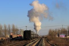 I_B_IMG_9057 (florian_grupp) Tags: asia china steam train railway railroad diaobingshan tiefa liaoning sy coal mine 282 mikado steamlocomotive locomotive