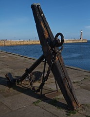 Whitby East Pier (Rons Images) Tags: anchor whitby whitbyeastpier rontoothill canoneos7d canonef1635mmf28liiusm sailing seaport fishingport