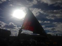 (carocampalans) Tags: concentracin bandera manifestacin sociales movimientossociales polticas paz diversidad