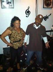 DJ Jay Roc and Tisha Lee