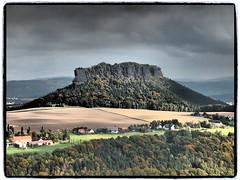 Lilienstein (#THMS) Tags: germany deutschland olympus sachsen hdr elbe festung lilienstein königstein elbsansteingebirge flickraward epl3