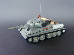 Lego ww2 -U.S.S.R T-34- (=DoNe=) Tags: world 2 by viktor war lego custom done t34