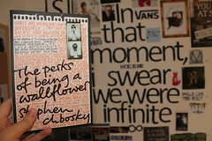 The Perks of Being a Wallflower (sleepingwithsiren) Tags: book quote theperksofbeingawallflower