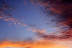 Banyalbufar 98_red (jaume rossell mir) Tags: light sunset red sea sky nature clouds mar jet shade mallorca majorca llum balearicislands illesbalears mediterrnia jaumerossellmir