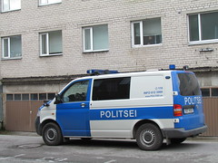Pärnu politsei (Juhani Sierla) Tags: volkswagen estonia police transporter eesti pärnu viro poliisi politsei
