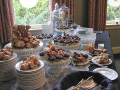 lovely dessert table (hello miss.quito) Tags: wedding best ever