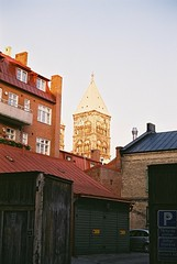 Roof tops and church tower (photo_snaiper) Tags: street lund streetphotography ultron vitomaticiia