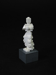 Venus de Milo (mondayn00dle) Tags: sculpture greek ancient lego roman louvre classical