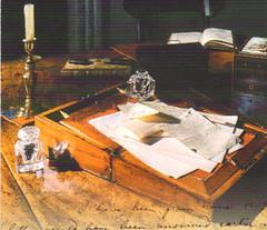 ANN BRONTE'S WRITING DESK