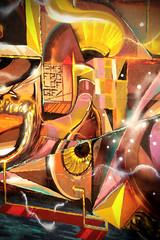 Focus on/ Sar1 (GhettoFarceur) Tags: france graffiti films tag memory flop gf paum pmb fpc lcf sarin graffuturism paumsarin