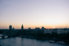 View from the Eye (rimatakesphotos) Tags: sunset london thames river big october view ben dusk parliament rimabaroudi rimatakesphotos nikon1j1