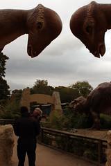 I don't think we're on Sodor any more... (Kninki) Tags: dinosaurs boychild thomasland husbando