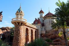 Eric's Castle (disneylori) Tags: disney disneyworld wdw waltdisneyworld magickingdom fantasyland enchantedforest thelittlemermaid newfantasyland undertheseajourneyofthelittlemermaid ericscastle