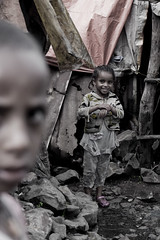 Happiness (mike_faraway) Tags: poverty africa boy girl smile children poor ethiopia gondar amhara