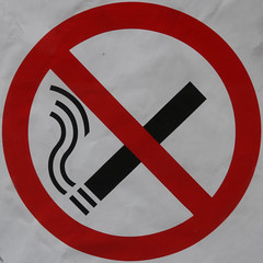 No smoking (Leo Reynolds) Tags: sign canon eos iso100 85mm 7d squaredcircle f56 signsafety signno 0008sec hpexif signnosmoking signcirclebar xleol30x sqset085