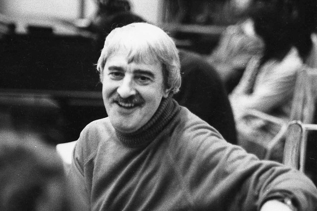 Kenneth MacMillan during rehearsals for La Fin du jour. The Royal Ballet 1979 Photograph from ROH Collections © 1979 Roy Round