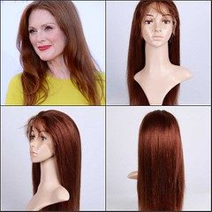 Julianne Moore wore simple soft waves (Sourcewill.com) Tags: beauty fashion hair women wig wigs hairstyle beautyhair fulllacewigs celebritywigs celebritylacewigs celebrityshairstyle