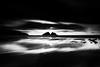 Altered State [Explored] (Martin Mattocks (mjm383)) Tags: longexposure sky blackandwhite white seascape black reflection rock clouds contrast mono cornwall horizon coastline canoneos5dmarkii cornwalllandscapes martinmattocksphotography