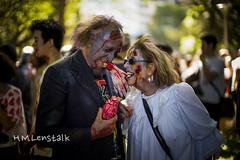 Zombie Walk (H.M.Lentalk) Tags: life leica city people urban 50mm zombie walk australia noctilux aussie 50 asph m9 f095 095 noctiluxm 109550