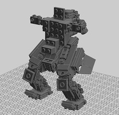 Soz Hawken is very, VERY Fun (Metal Core Collectibles) Tags: game video lego wip beta mecha mech ldd hawken