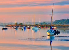 Woodbridge_RiverDeben-156_7_8_9-Edit (smiffyspics) Tags: sunrise landscape dawn suffolk woodbridge riverdeben