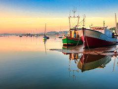 Woodbridge_RiverDeben-123_4_5-Edit (smiffyspics) Tags: sunrise landscape dawn suffolk woodbridge riverdeben