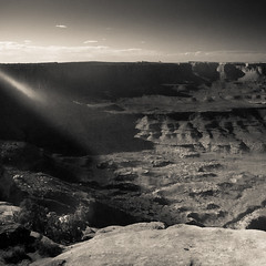West (70 of 112) (The Paul Miller) Tags: summer blackandwhite sun blancoynegro rock river utah colorado ray time earth grand roadtrip canyon canyonlandsnationalpark heat huge moab gigantic timeless