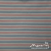 Vintage sheet - blue/pink/white stripe