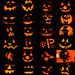 Jack-o-lantern collage. Mark Kurtz of Saranac Lake attended a jack-o-lantern carving party and made this photo collage of the results.
