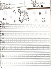 Atividades com a Vogal A -1001 Maneiras de Alfabetizar. (Atividades Educao Infantil) Tags: alfabetizao 1srie vogais 1001maneirasdealfabetizar