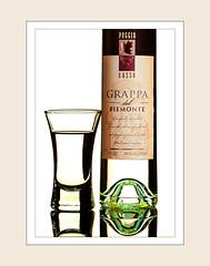 Grappa del Piemonte (rjptn) Tags: italy glass bottle piemonte liquor alcohol grappa
