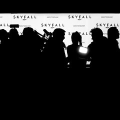 Paparazzi (Mr sAg) Tags: vacation blackandwhite holiday cinema holland netherlands dutch amsterdam square mono silhouettes movies paparazzi nl premiere screening sag 007 journalists redcarpet jamesbond premire simonharrison skyfall zlistcelebrities mrsag simonharrison dutchpremiereofskyfall
