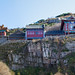 泰山天街 Heavenly Street at Mount Tai / 山東省 山东省 Shandong Province / 中國旅遊 中国旅游 China Tourism / SML.20121011.7D. 09491-09493.pano