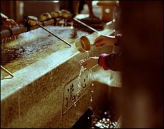 """Cleanse your Heart"" (MichelleSimonJadaJana) Tags: 120 japan analog tokyo pentax scanner documentary lifestyle snaps  epson medium format  6x7 smc 67ii flatbed 105mm f24 pentax67 vuescan v750 gtx970"
