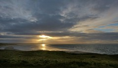 from Gullane Point (Edinburgh Nette) Tags: sky seascapes sunsets gullane ribbet january13