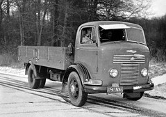 Petrol Engined Commer On Test (colinfpickett) Tags: 1950s classictruck commer vintagetruck famoustruck