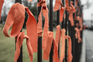 Witness Against Torture: Ribbons at the White House